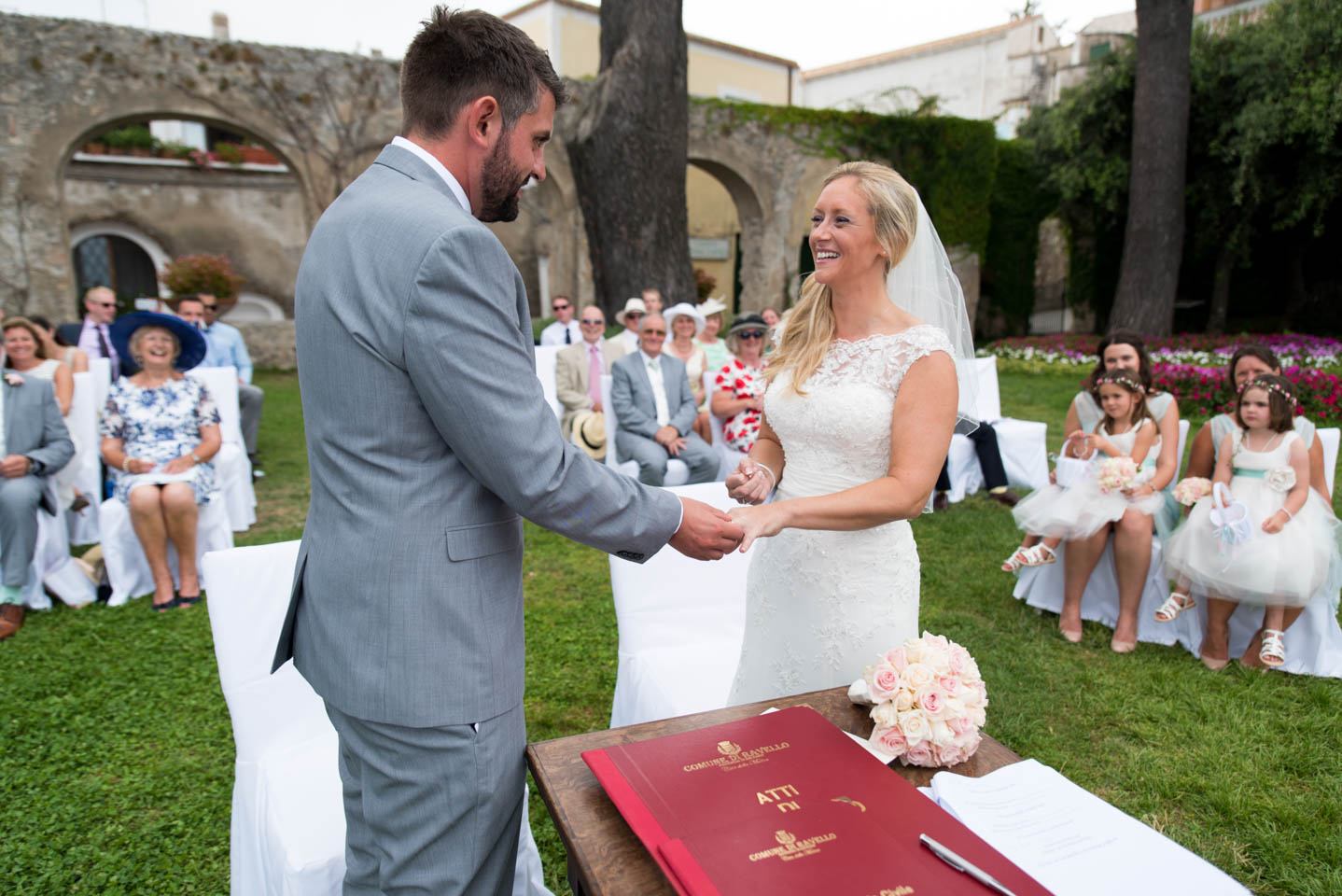 Timothy & Angela - Wedding in Ravello