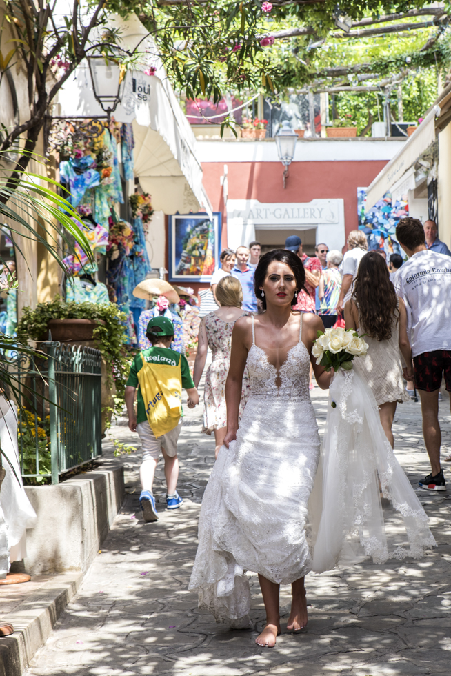 John & Tracy - Wedding in Positano